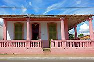 Building in Candelaria, Artemisa, Cuba.