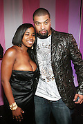 l to r: Cheryl Talley (Alize, Brand Manager) and D-Ray at the Celebrity Catwalk co-sponsored by Alize held at The Highlands Club on August 28, 2008 in Los Angeles, California..Celebrity Catwork for Charity, a fashion show/lifestyle event, raises funds & awareness for National Animal Rescue.