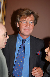 PRINCE ERNST OF HANOVER at an exhibition of paintings by artist George Condo entitled 'Religious Paintings' held at the Spruth Magers Lee Gallery, 12 Berkeley Street, London W1 on 12th October 2004.<br /><br />NON EXCLUSIVE - WORLD RIGHTS