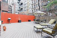 Patio at 405 East 63rd Street