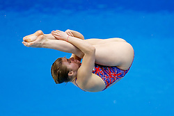 in action in the Womens 1m Springboard Final - Photo mandatory by-line: Rogan Thomson/JMP - 07966 386802 - 20/08/2014 - SPORT - DIVING - Berlin, Germany - SSE im Europa-Sportpark - 32nd LEN European Swimming Championships 2014 - Day 8.