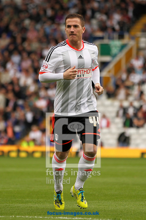 Ross McCormack of Fulham during the Sky Bet Championship match at St Andrews, Birmingham<br /> Picture by Tom Smith/Focus Images Ltd 07545141164<br /> 27/09/2014