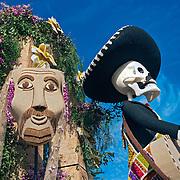 Pasadena Rose Parade Floats 2009