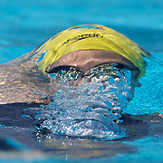 Stephanie Rice in action in the Women's 200m IM heats at the World Swimming Championships in Rome on Sunday, July 26, 2009. Photo Tim Clayton.