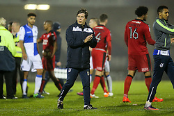 Bristol Rovers manager Darrell Clarke after Bristol Rovers win 4-2 - Rogan Thomson/JMP - 15/11/2016 - FOOTBALL - Memorial Stadium - Bristol, England - Bristol Rovers v Crawley Town - FA Cup First Round Replay.