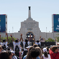 Special Olympics World Games Los Angeles Opening Ceremony 2015 Gallery