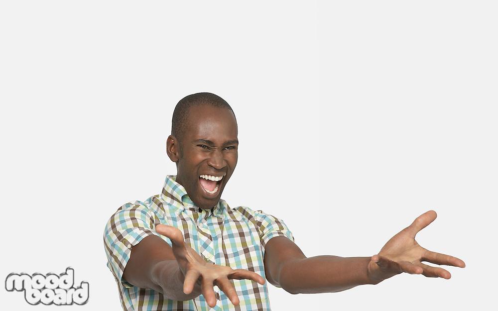 Enthusiastic Man