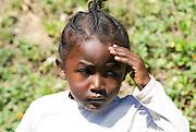 Madagascar, Young Madagascan girl