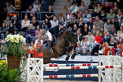 TOVEK Evelina (SWE), Mill's Sheridan<br /> Göteborg - Gothenburg Horse Show 2019 <br /> Gothenburg Trophy presented by VOLVO<br /> Int. jumping competition with jump-off (1.55 m)<br /> Longines FEI Jumping World Cup™ Final and FEI Dressage World Cup™ Final<br /> 06. April 2019<br /> © www.sportfotos-lafrentz.de/Stefan Lafrentz