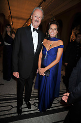 The DUKE & DUCHESS OF MARLBOROUGH at a dinner to celebrate the opening of 'Maharaja - The Spendour of India's Royal Courts' an exhbition at the V&A, London on 6th October 2009.