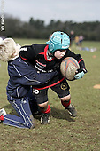 Saracens Masterclass at Hertford RFC. 19-2-09. Under 9s