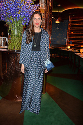 TATIANA CASIRAGHI at a dinner hosted by Roger Vivier to celebrate The Prismick Denim by Camillle Seydoux held at Casa Cruz, 123 Clarendon Road, London on 17th March 2016.