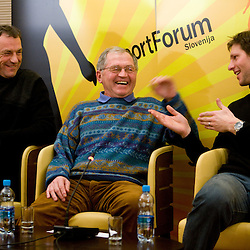 20100125: Alpine Skiing - Sportforum Slovenija, Okrogla miza o alpskem smucanju v Sloveniji