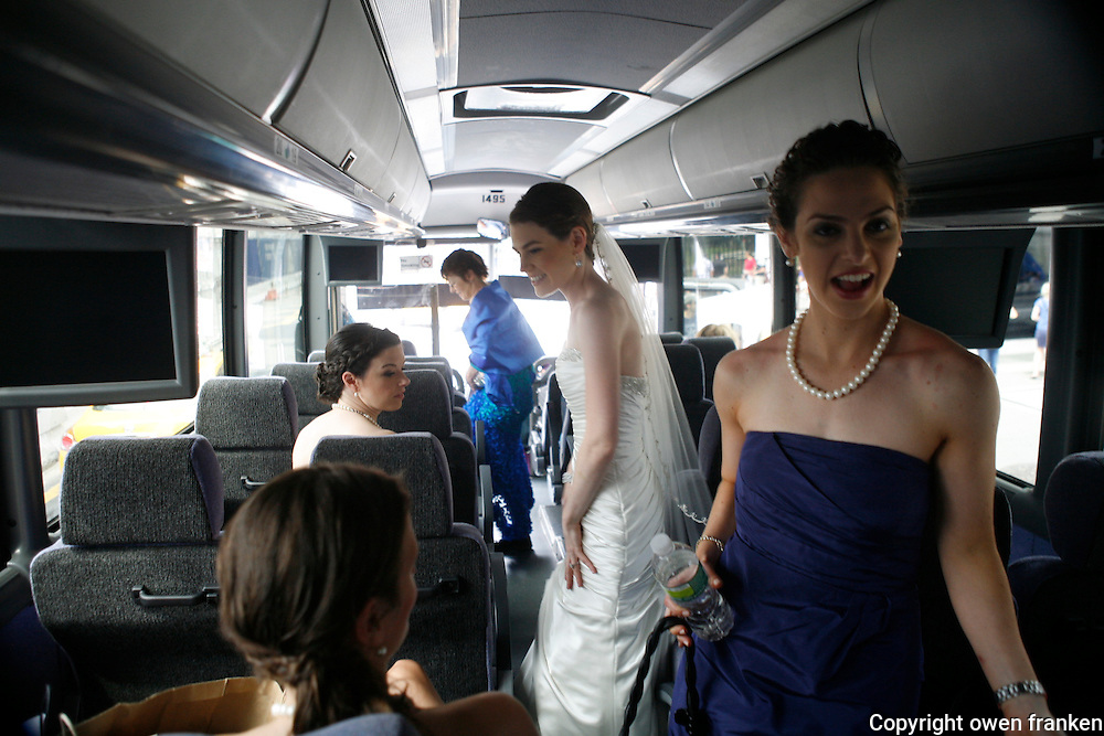 joe and stephanie  wedding <br /> - photograph by Owen Franken
