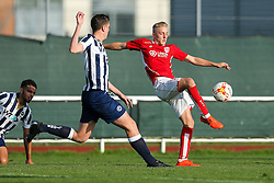 Ricardo Rees of Bristol City U23 in action - Rogan Thomson/JMP - 31/10/2016 - FOOTBALL - SGS Wise Campus - Bristol, England - Bristol City U23 v Millwall U23 - U23 Professional Development League 2 (South Division).