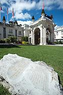 21/08/16 - AIX LES BAINS - SAVOIE - FRANCE - Architecture thermale a Aix les Bains. Le Casino - Photo Jerome CHABANNE
