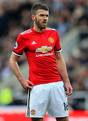 Michael Carrick of Manchester United - Mandatory by-line: Matt McNulty/JMP - 11/02/2018 - FOOTBALL - St James Park - Newcastle upon Tyne, England - Newcastle United v Manchester United - Premier League