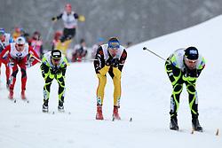 31.12.2011, DKB-Ski-ARENA, Oberhof, GER, Viessmann Tour de Ski 2011, FIS Langlauf Weltcup, Verfolgung Herren, im Bild Tim Tscharnke (2.v.re./GER) // during men's pursuitof Viessmann Tour de Ski 2011 FIS World Cup Cross Country at DKB-SKI-Arena Oberhof, Germany on 2011/12/31. EXPA Pictures © 2011, PhotoCredit: EXPA/ nph/ Hessland..***** ATTENTION - OUT OF GER, CRO *****