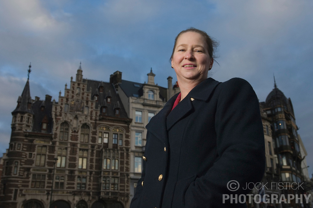 BRUSSELS, BELGIUM - JAN-04-2007 - Sophie Hohenberg de Potesta is the great granddaughter of Arch Duke Franz Ferdinand and has started legal proceedings to get the family castle back from the Czech government. The Czech government seized all the property of the royal family, including the castle, after World War 1. (PHOTO © JOCK FISTICK)