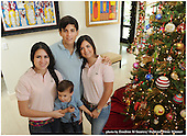 Christmas card photo for Carlos and family 2012