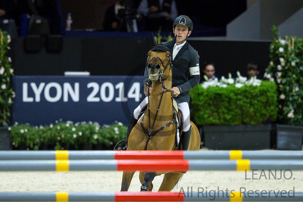 Scott Brash - Ursula XII<br /> FEI World Cup Final 2014<br /> &copy; DigiShots