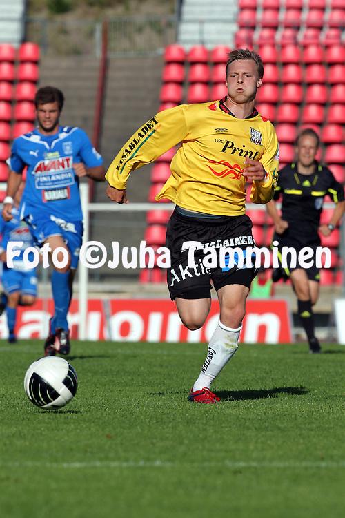 05.07.2010, Ratina, Tampere..Veikkausliiga 2010, Tampere United - Vaasan Palloseura..Sami Salmi - VPS.©Juha Tamminen.