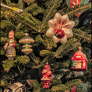 Annette has been collecting Christmas ornaments for over 70 years.<br />