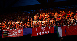MADRID, SPAIN - SATURDAY, JUNE 1, 2019: Liverpool supporters during the UEFA Champions League Final match between Tottenham Hotspur FC and Liverpool FC at the Estadio Metropolitano. (Pic by David Rawcliffe/Propaganda)
