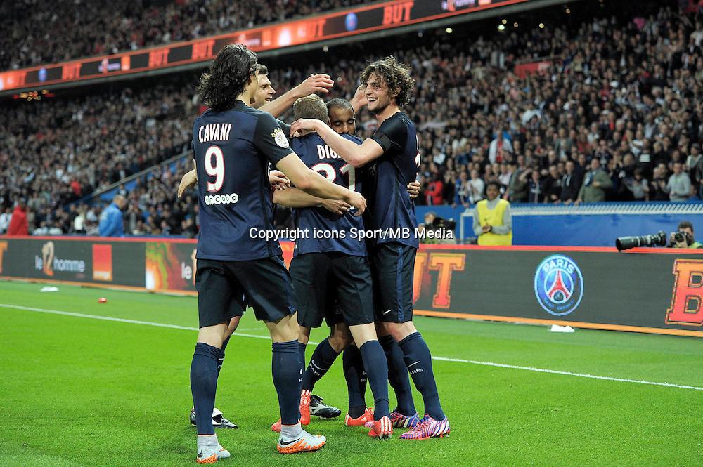 joie PSG / Adrien Rabiot - 23.05.2015 - PSG / Reims - 38eme journee de Ligue 1<br /> Photo : Andre Ferreira / Icon Sport