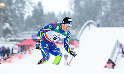 21.02.2016, Salpausselkae Stadion, Lahti, FIN, FIS Weltcup Langlauf, Lahti, Herren Skiathlon, im Bild Maurice Manificat (FRA) // Maurice Manificat of France competes during Mens Skiathlon FIS Cross Country World Cup, Lahti Ski Games at the Salpausselkae Stadium in Lahti, Finland on 2016/02/21. EXPA Pictures © 2016, PhotoCredit: EXPA/ JFK