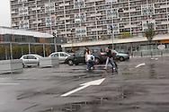 France, La Courneuve , cite of 4000. daily life   /La Courneuve, cite des 4000 , la vie quotidienne   /