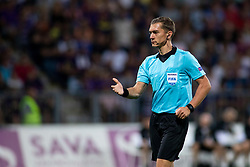 Referee during 2nd Leg football match between NK Maribor and Rangers FC in 3rd Qualifying Round of UEFA Europa League 2018/19, on August 16, 2018 in Stadion Ljudski vrt, Maribor, Slovenia. Photo by Urban Urbanc / Sportida