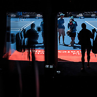 A general view of the walk on tunnel on day ten of the 2018 Australian Open in Melbourne Australia on Wednesday January 24, 2018.<br /> (Ben Solomon/Tennis Australia)