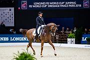 Patrick van der Meer - Zippo<br /> FEI Longines FEI World Cup Paris 2018<br /> &copy; DigiShots