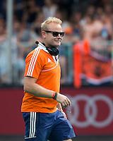 BRASSCHAAT - Bondscoach Nederlands Team dames , Sjoerd Marijne ,  voor de finale tegen Korea. COPYRIGHT KOEN SUYK