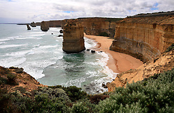 AUSTRALIA VICTORIA GREAT OCEAN ROAD 10FEB08 - View of the Twelve Apostles, one of Australia's famous landmarks, Victoria, Australia...jre/Photo by Jiri Rezac..© Jiri Rezac 2008..Contact: +44 (0) 7050 110 417.Mobile:  +44 (0) 7801 337 683.Office:  +44 (0) 20 8968 9635..Email:   jiri@jirirezac.com.Web:    www.jirirezac.com..© All images Jiri Rezac 2007 - All rights reserved.
