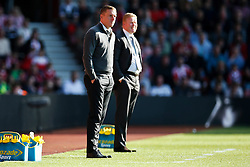 Swansea City's manager Garry Monk and Southampton manager Ronald Koeman - Mandatory by-line: Jason Brown/JMP - 07966 386802 - 26/09/2015 - FOOTBALL - Southampton, St Mary's Stadium - Southampton v Swansea City - Barclays Premier League