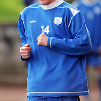 St Johnstone Training...26.01.07<br />Martin Hardie in good humour during training this morning before tomorrow's crunch game against Gretna<br />see story by Gordon Bannerman Tel: 01738 553978 or 07729 865788<br />Picture by Graeme Hart.<br />Copyright Perthshire Picture Agency<br />Tel: 01738 623350  Mobile: 07990 594431