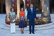 080318 Spanish Royals Host A Dinner For Authorities In Palma De Mallorca
