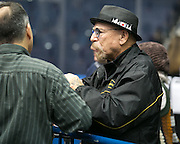 Brother Wease at the Razorsharks opener against the Carolina Vipers at the Blue Cross Arena on Saturday, December 6, 2014.