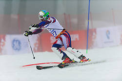 Miroslav HARAUS competing in the Alpine Skiing Super Combined Slalom at the 2014 Sochi Winter Paralympic Games, Russia
