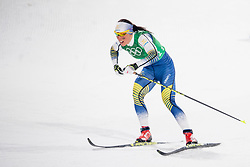 February 17, 2018 - Pyeongchang, SOUTH KOREA - 180217 Charlotte Kalla of Sweden competes in WomenÃ•s Cross Country Skiing 4x5 km Relay during day eight of the 2018 Winter Olympics on February 17, 2018 in Pyeongchang..Photo: Petter Arvidson / BILDBYRN / kod PA / 87632 (Credit Image: © Petter Arvidson/Bildbyran via ZUMA Press)