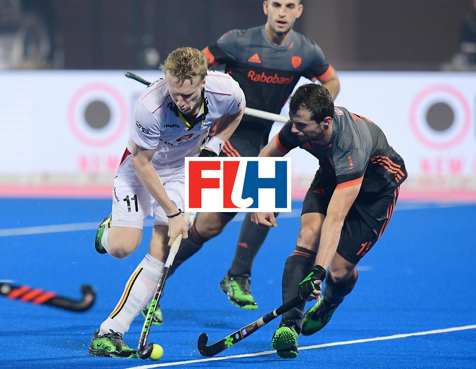 Odisha Men's Hockey World League Final Bhubaneswar 2017<br /> Match id:12<br /> Belgium v Netherlands<br /> Foto: Amaury Keusters (Bel) <br /> COPYRIGHT WORLDSPORTPICS FRANK UIJLENBROEK