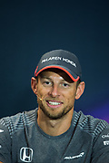 May 24-27, 2017: Monaco Grand Prix. Jenson Button (GBR), McLaren Honda Development driver