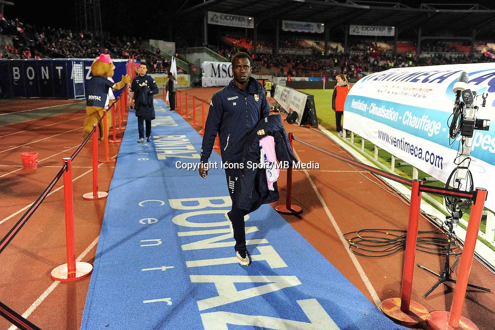 Pape Amodou SOUGOU  - 07.03.2015 -  Evian Thonon / Monaco -  28eme journee de Ligue 1 <br />Photo : Jean Paul Thomas / Icon Sport