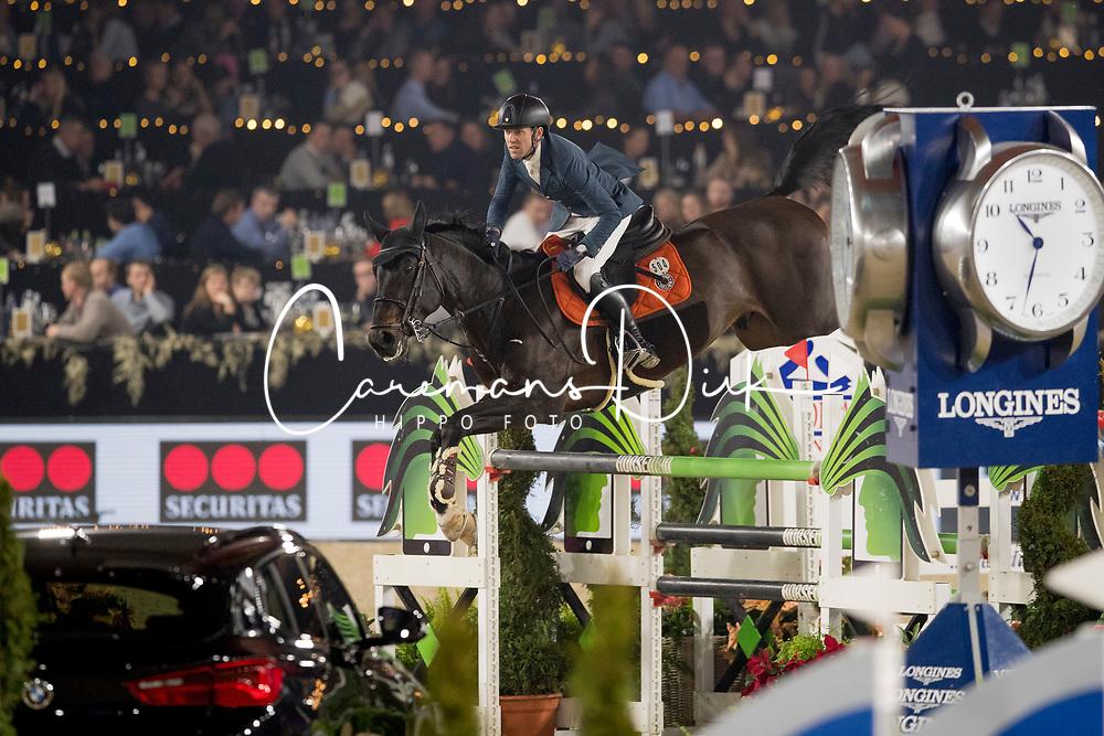Delestre Simon, FRA, Chadino<br /> Jumping Mechelen 2018<br /> © Hippo Foto - Sharon Vandeput<br /> 27/12/18