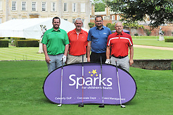 TEAM WINGATE, Sparks Leon Haslam Golf Day Wellingborough Golf Course Tuesday 7th June 2016