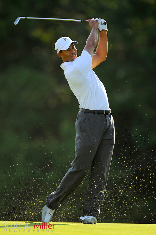 Tiger Woods during a practice round at TPC Sawgrass on May 6, 2009 in Ponte Vedra Beach, Florida.     ©2009 Scott A. Miller