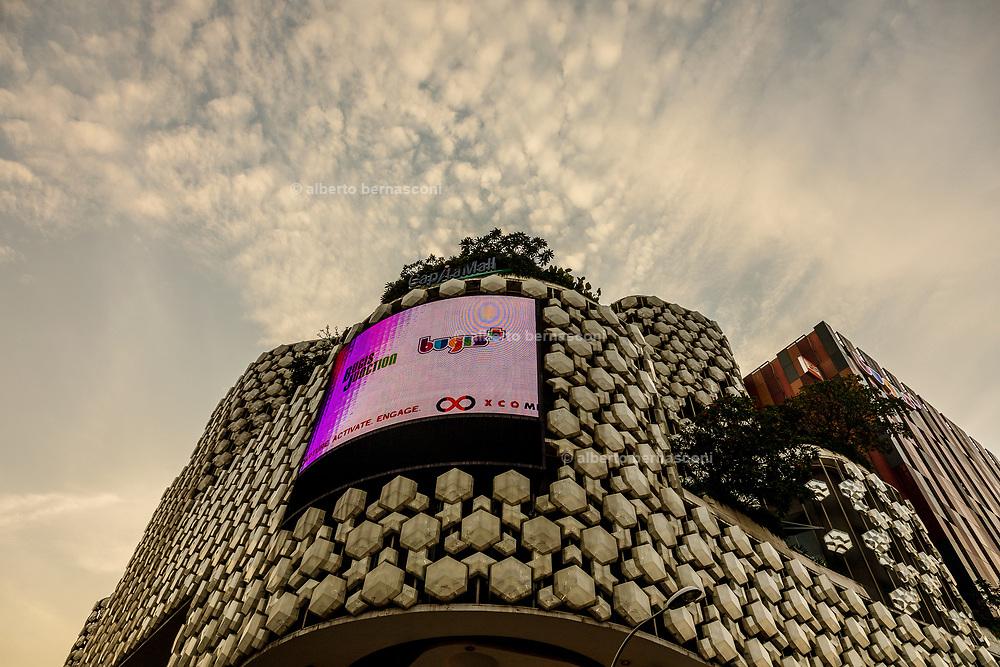 Singapore, Capital Mall in Bugis area