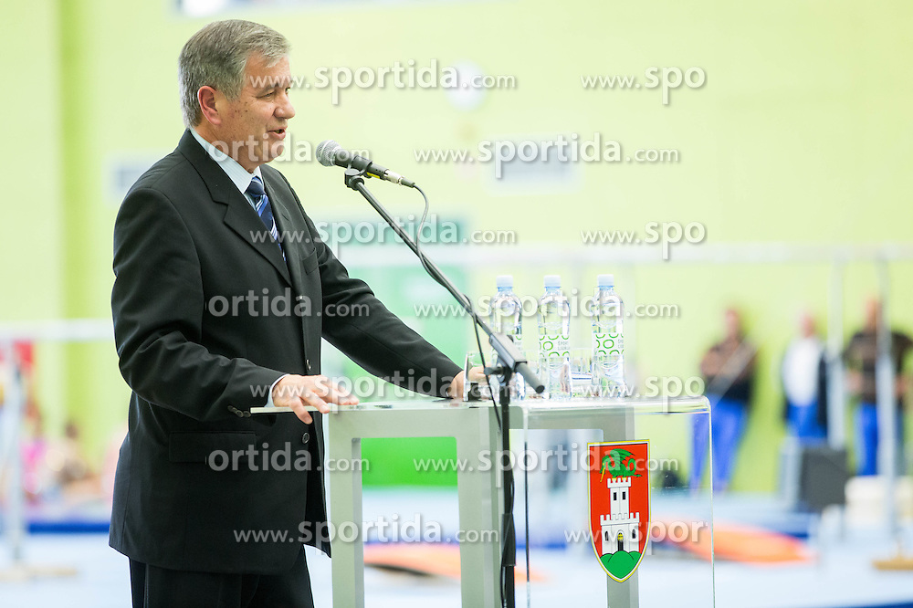 during Grand Opening of new Ljubljana Gymnastics centre Cerar-Pegan-Petkovsek, on November 26, 2015 in Ljubljana, Slovenia. Photo by Vid Ponikvar / Sportida